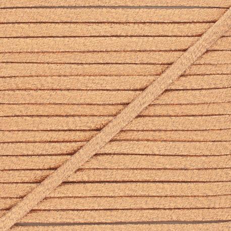 Frou-Frou Lurex Stitched Cord - Cooper x 1m