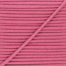 Frou-Frou Lurex Stitched Cord - Raspberry x 1m