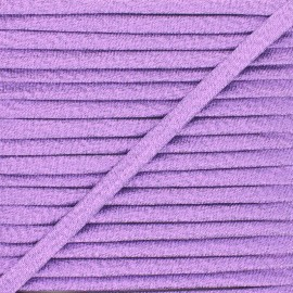 Frou-Frou Lurex Stitched Cord - Purple x 1m