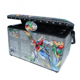 Medium Size Sewing Box - Tropic