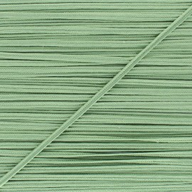 Braid ribbon Alba - Lichen green x 1m