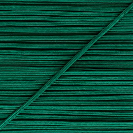 Braid ribbon Alba - Emerald green x 1m