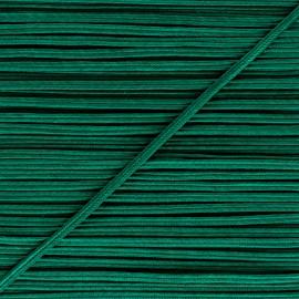 Soutache Alba - Vert émeraude x 1m