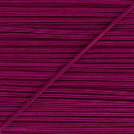 Braid ribbon Alba - Purple red x 1m