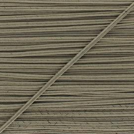 Braid ribbon Alba - Coffee x 1m