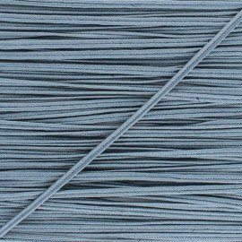 Braid ribbon Alba -Grey x 1m