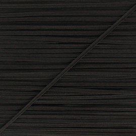 Braid ribbon Alba - Brown x 1m