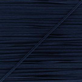 Braid ribbon Alba - Navy blue x 1m