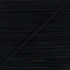 Braid ribbon Alba - black x 1m
