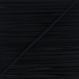 Soutache Alba - noir x 1m