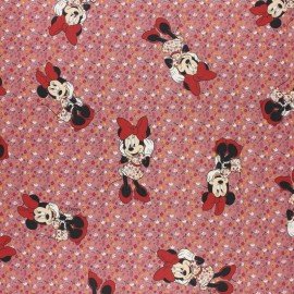 Frozen Cretonne cotton fabric - pink Sven & cie x 10cm