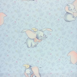 Disney Cretonne cotton fabric - white Bambi x 10 cm