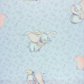 Tissu coton cretonne Bambi - blanc x 10cm