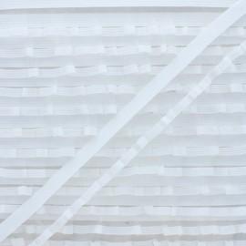 Elastique Lingerie Volant - Blanc x 1m