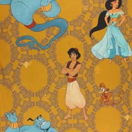 Tissu coton cretonne Disney Toy Story Woody - bleu x 10cm