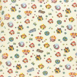Tissu coton cretonne Pat'Patrouille - Pup's on the go x 10cm