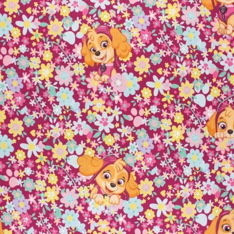 Paw Patrol - Cretonne cotton fabric - Stella x 10 cm