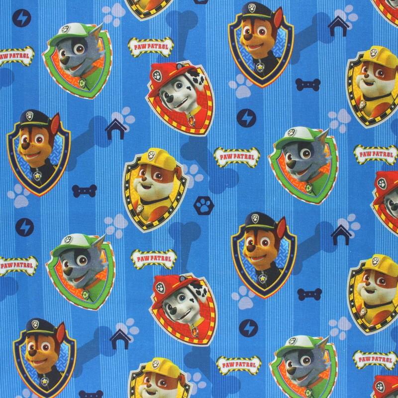 3 Dimensions polyester qualit/é velours Coussin fantaisie Enfant Paw Patrol Chase Pat Patrouille