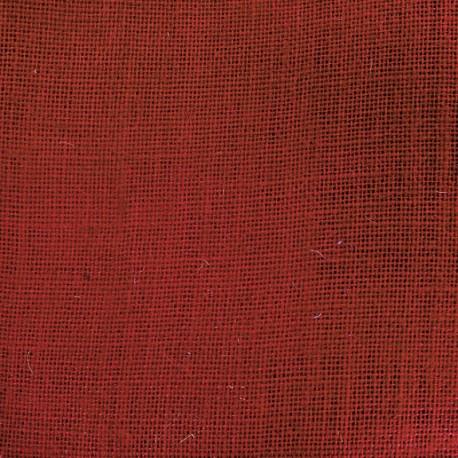 Toile de Jute Colors - coquelicot x 10cm