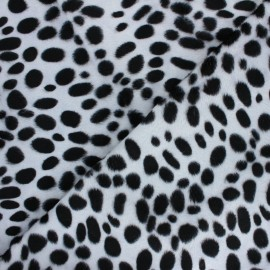 Short-haired Fur fabric - Dalmatian Animéo x 10cm