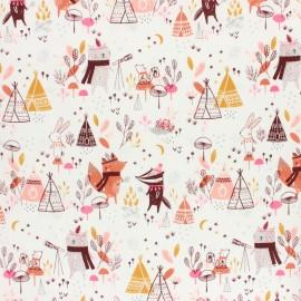 Tissu coton Dashwood Studio Laska - Forest x 10cm