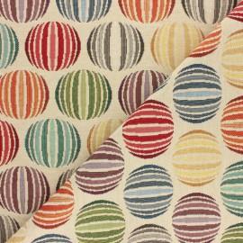 Jacquard fabric - Multicolor Sphera x 10cm