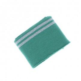 Poppy Edging Fabric (135x7cm) - Mint Duo