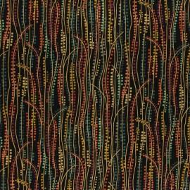 Tissu coton Makower UK Rhapsody Dotty - écru x 10cm
