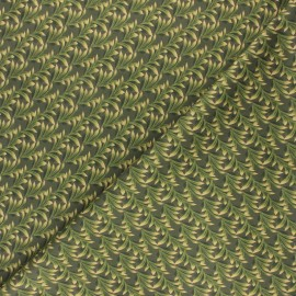 Milano jersey fabric - green Green Leaf x 10cm