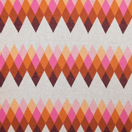 Organic cotton knitted fabric - Navy Bliss Peak Spezial x 10 cm