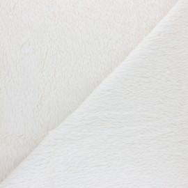 Organic cotton Sheep fur fabric - raw Eden x 10cm