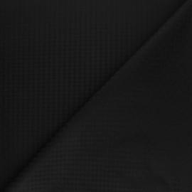 Tissu Doublure Jacquard Kotli - noir x 10cm