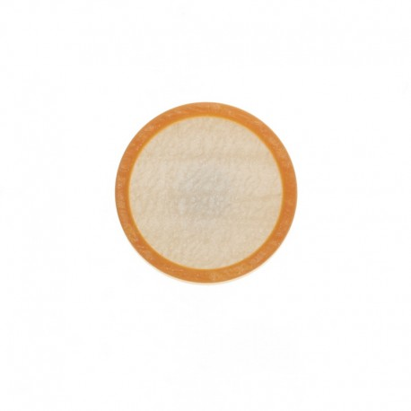 Bouton Polyester Martine 23 mm - Gris Perle