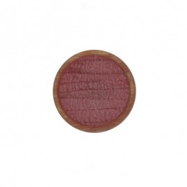 Bouton Polyester Martine 23 mm -  Vieux Rose