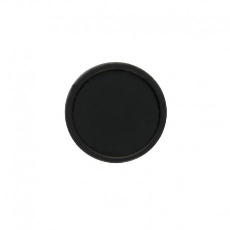 23 mm Polyester Button - Black Martine