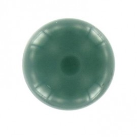 Bouton boule polyester vert sapin 10 mm