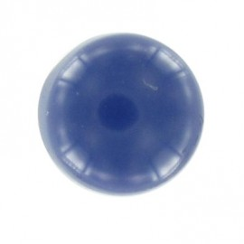 Polyester ball button - navy