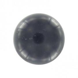 Polyester ball button -midnight blue