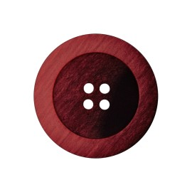 Polyester Button - Red Candice