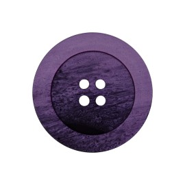 Polyester Button - Purple Candice