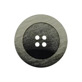 Bouton Polyester Candice - Vert de gris