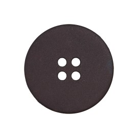 Bouton Polyester Indispensable - Noir