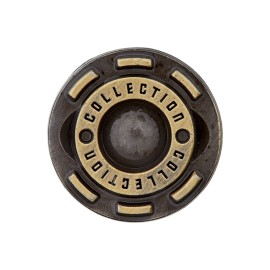 Collection jeans button - bronze