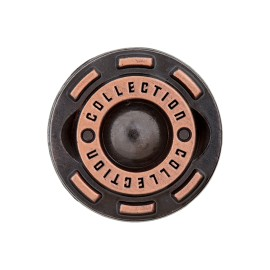 Collection jeans button - copper