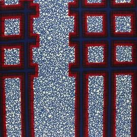 Wax print fabric - Yellow Sanhia x 10cm