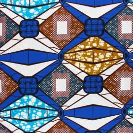 Tissu Wax Waliya - violet x 10cm