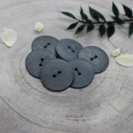 Bouton Corozo Palm Atelier Brunette - Smokey