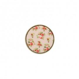 Polyester Button - Light pink Garance