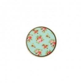 Polyester Button - Mint Garance