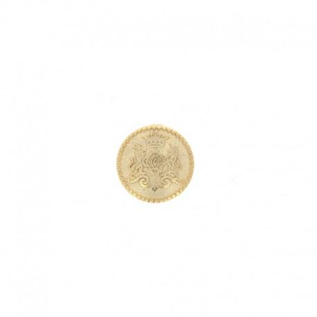 Bouton métal Grimaldi - doré